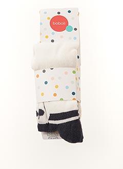 Collants blanc BOBOLI pour fille