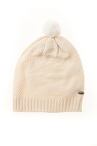 Bonnet beige KAPORAL pour femme