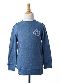 Sweat-shirt bleu PETROL INDUSTRIES pour garçon