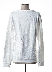Sweat-shirt blanc PETROL INDUSTRIES pour fille seconde vue