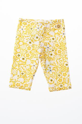 Legging jaune BOBOLI pour fille
