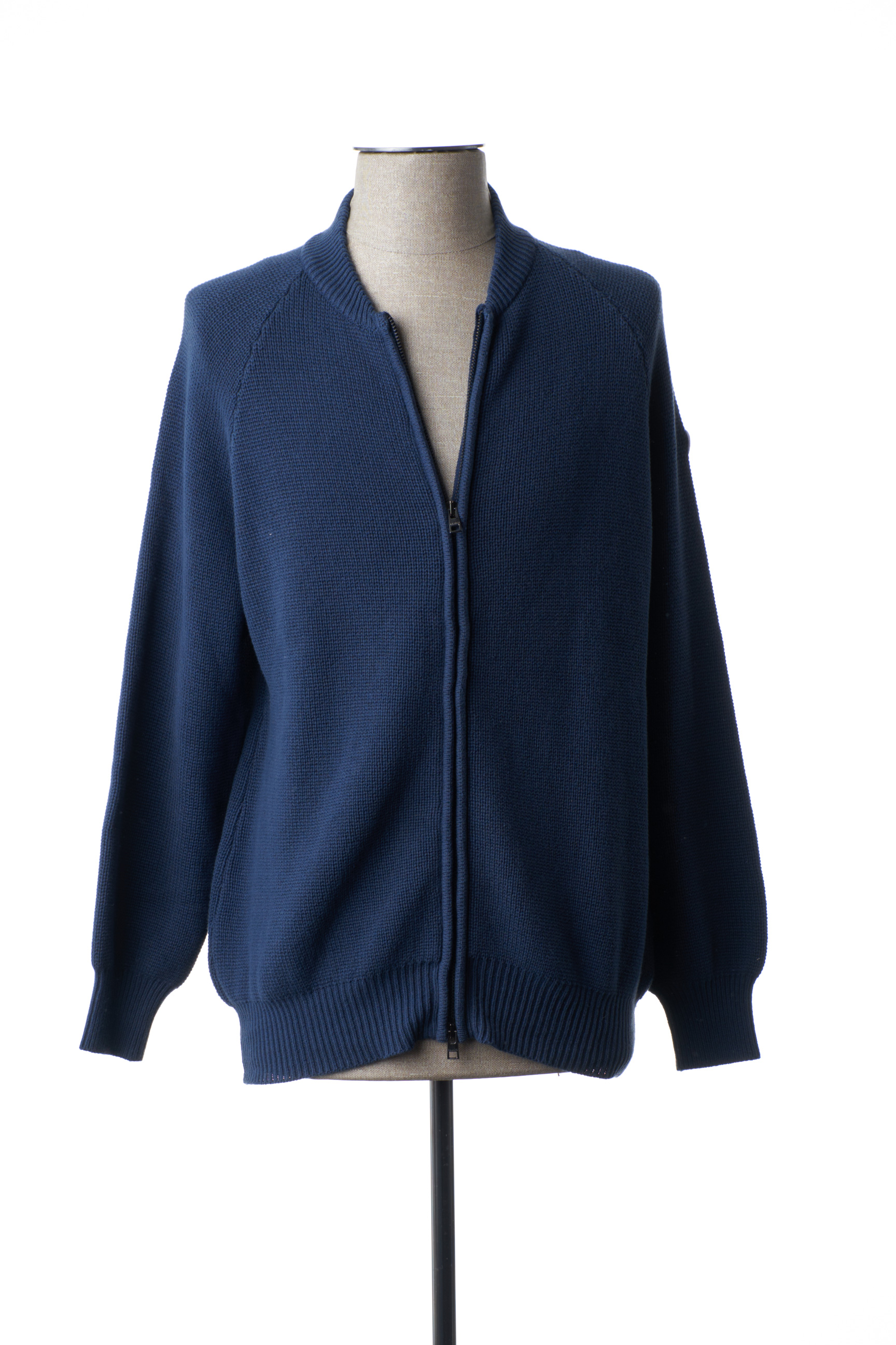 Gilet manches longues homme Serge Blanco bleu taille : 3XL 69 FR (FR)