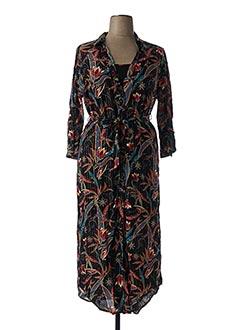 Robe longue noir LOLA ESPELETA pour femme