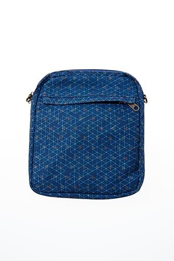 Pochette bleu DECODELIRE PARIS pour homme