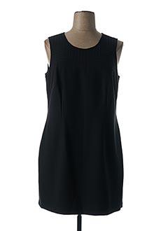 Robe mi-longue noir JENSEN pour femme