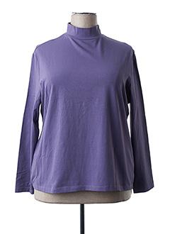 Sous-pull violet FELINO pour femme