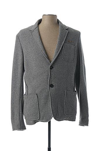 Veste chic / Blazer gris AERONAUTICA pour homme