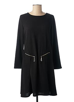 Robe pull noir MARBLE pour femme