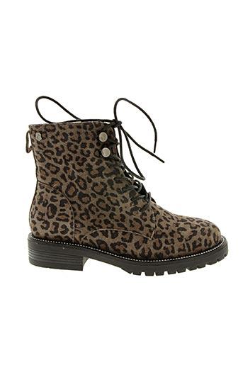 Bottines/Boots gris CARMELA pour femme