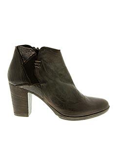 Bottines/Boots marron KHRIO pour femme