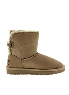 Bottines/Boots beige MTNG pour femme