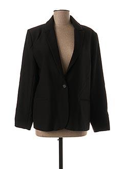 Veste chic / Blazer noir YUKA pour femme