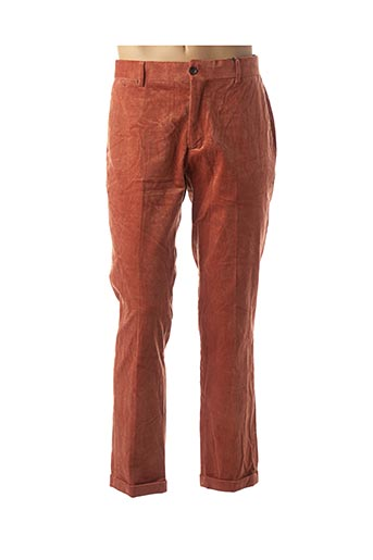 Pantalon casual orange SCOTCH & SODA pour homme