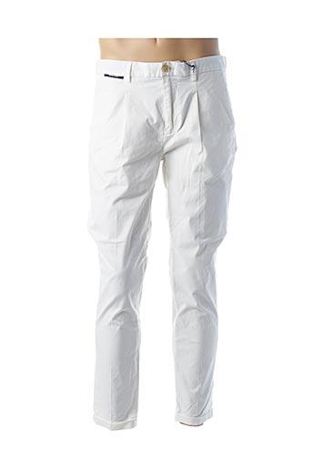 Pantalon chic blanc SCOTCH & SODA pour homme