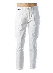 Pantalon chic blanc SCOTCH & SODA pour homme seconde vue