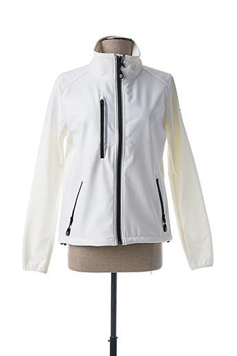 Veste casual blanc CODE ZERO pour femme
