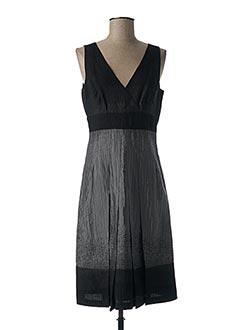 Robe mi-longue gris CAROLINE BISS pour femme