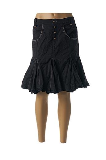 Jupe courte noir BARBARA BAUDON pour femme