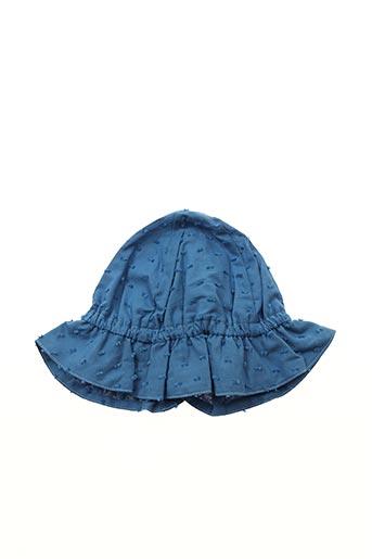 Chapeau bleu PETIT BATEAU pour fille