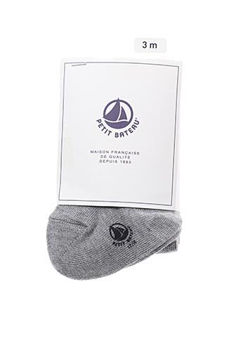 Collants gris PETIT BATEAU pour fille