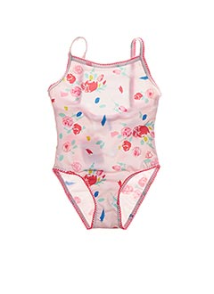 Maillot de bain 1 pièce rose PETIT BATEAU pour fille
