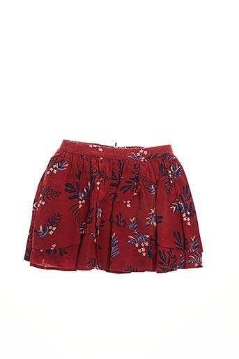 Jupe mi-longue rouge CARREMENT BEAU pour fille