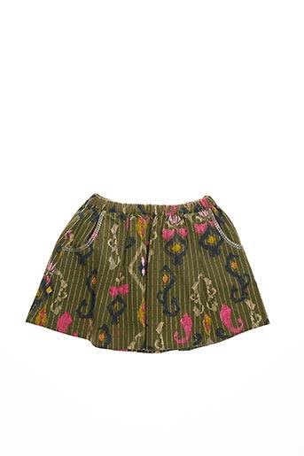 Jupe mi-longue vert BILLIEBLUSH pour fille