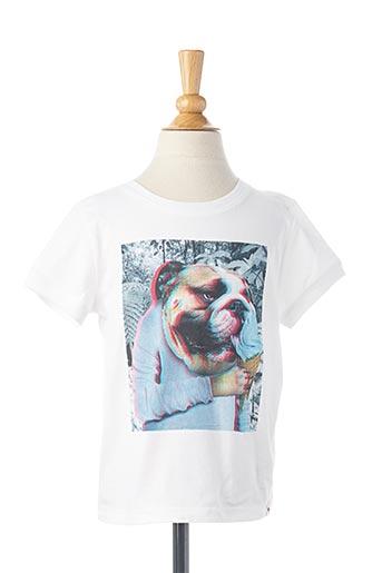 T-shirt manches courtes blanc BILLYBANDIT pour enfant