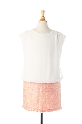 Robe mi-longue rose MAYORAL pour fille