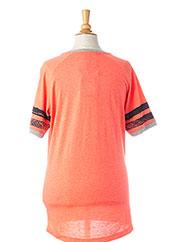 T-shirt manches courtes orange GARCIA pour garçon seconde vue