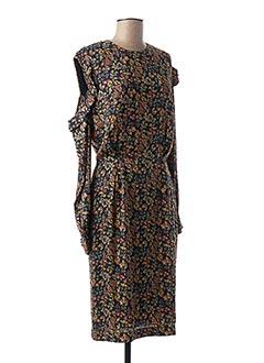 Robe mi-longue noir ESSENTIEL ANTWERP pour femme