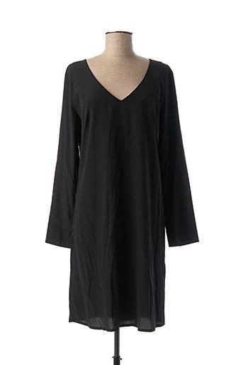 Robe mi-longue noir ATTIC AND BARN pour femme