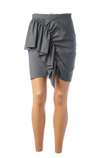 Jupe courte gris ISABEL MARANT pour femme