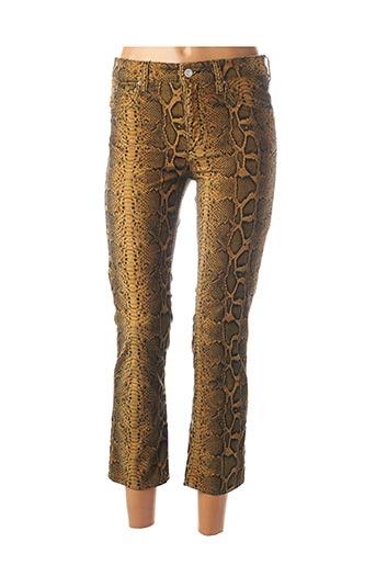 Pantalon 7/8 marron ISABEL MARANT pour femme