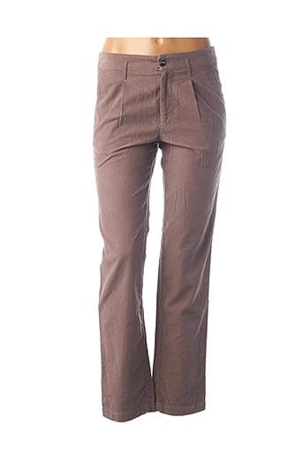 Pantalon casual rose BELLEROSE pour femme