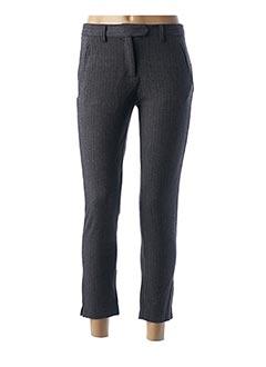 Pantalon 7/8 gris LOLA ESPELETA pour femme