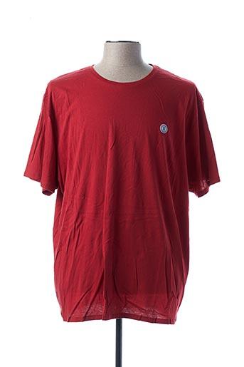 T-shirt manches courtes rouge SERGE BLANCO pour homme