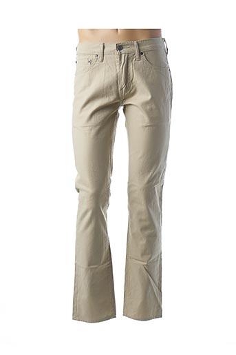 Pantalon casual beige LEVIS pour homme