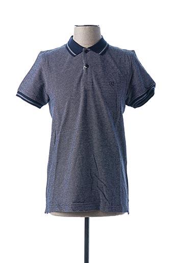 Polo manches courtes bleu SALSA pour homme