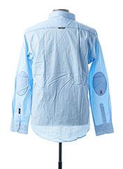 Chemise manches longues bleu ARISTOW pour homme seconde vue