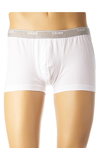Shorty/Boxer blanc CALIDA pour homme