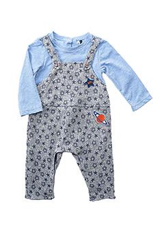 Combi-pantalon bleu 3 POMMES pour garçon