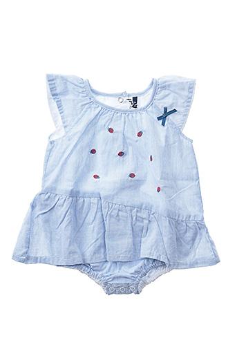 Combishort bleu 3 POMMES pour fille