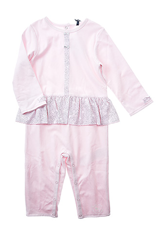 Combi-pantalon rose 3 POMMES pour fille