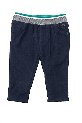 Pantalon casual bleu ELLE EST OU LA MER pour fille