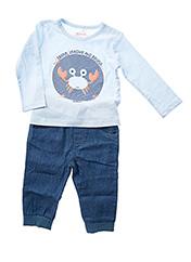 Top/pantalon bleu BOBOLI pour garçon seconde vue