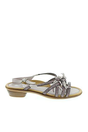 Sandales/Nu pieds rose ARRIVA pour femme
