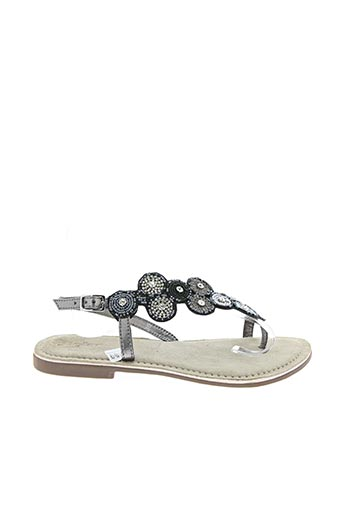 Sandales/Nu pieds noir HELLER pour femme