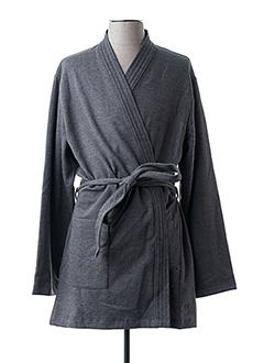 Robe de chambre gris IMPETUS pour homme