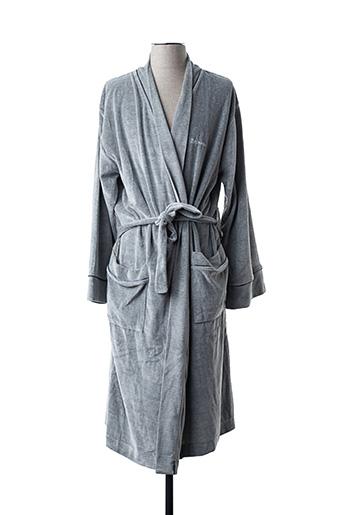 Eminence Robes De Chambre Peignoirs Homme De Couleur Gris En Soldes Pas Cher 1446651 Gris00 Modz
